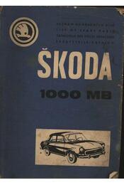 Skoda 1000 MB - Régikönyvek