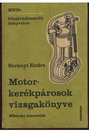 Motorkerékpárosok vizsgakönyve - Régikönyvek