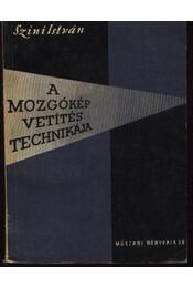 A mozgókép vetítéstechnikája - Régikönyvek