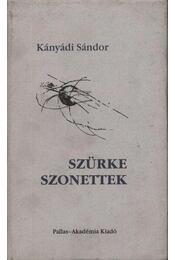 atirni - Szürke szonettek - Régikönyvek