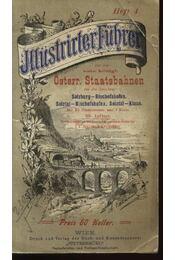 Illustrirter Führer auf deu K. K. Österr. Staatsbahnen - Régikönyvek
