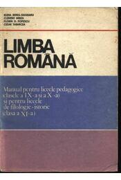Limba Romana - Régikönyvek
