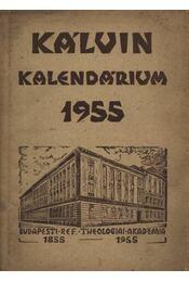 Kálvin Kalendárium 1955. - Régikönyvek