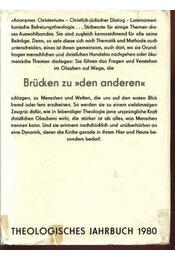 Theologisches Jahrbuch 1980 - Régikönyvek