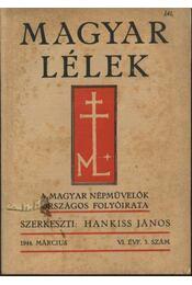 Magyar Lélek 1944.március - Régikönyvek