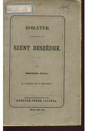 Roráték alkalmára írt szent beszédek - Régikönyvek