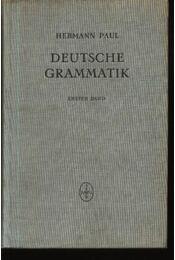 Deutsche grammatik I-IV. Band - Régikönyvek