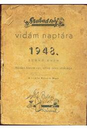 A szabad száj vidám naptára - Régikönyvek