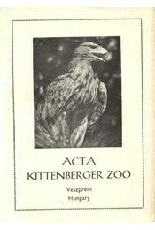 Acta Kittenberger ZOO - Régikönyvek