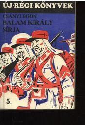 Balam király sírja, Kockás szabadságon - Régikönyvek
