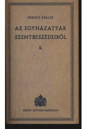 Az egyházatyák szentbeszédeiből II. - Régikönyvek