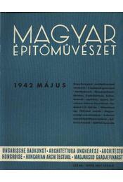 Magyar Építőművészet 1942. május - Régikönyvek