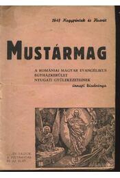 Mustármag - Régikönyvek