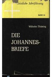 Die Johannes Briefe - Régikönyvek