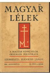 Magyar Lélek 1941. augusztus - Régikönyvek