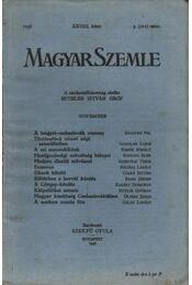 Magyar Szemle 1936 XXVIII. kötet 3. (111.) szám - Régikönyvek