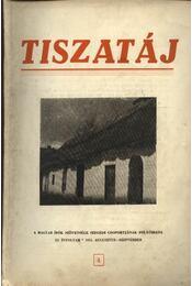 Tiszatáj 1955. augusztus-szeptember XI. évfolyam 4. - Régikönyvek