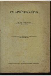 Talajművelőgépek - Régikönyvek