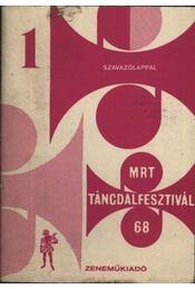 MRT táncdalfesztivál 68 - Régikönyvek