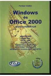 Windows és Office 2000 felhasználóknak - Régikönyvek