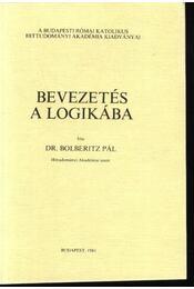 Bevezetés a logikába - Régikönyvek