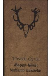 Magyar-német vadászati szakszótár - Régikönyvek