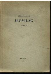 Jégvilág (dedikált) - Régikönyvek