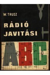 Rádiójavítási ABC - Régikönyvek