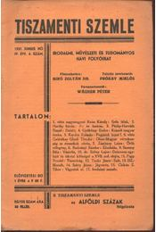 Tiszamenti Szemle - IV. évfolyam, 6. szám - Régikönyvek