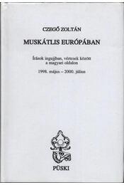 Muskátlis Európában - Régikönyvek