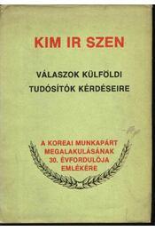 Kim Ir Szen - Régikönyvek