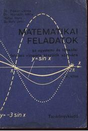 Matematikai feladatok I-II. kötet - Régikönyvek