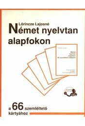 Német nyelvtan alapfokon - Régikönyvek
