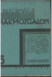 Református Diákmozgalom 1930. január - Régikönyvek