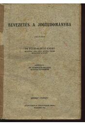 Bevezetés a jogtudományba - Régikönyvek