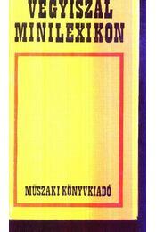 Vegyiszál minilexikon - Régikönyvek