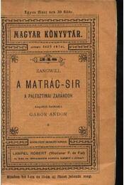 A Matrác-sír - Régikönyvek