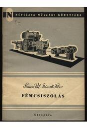 Fémcsiszolás - Régikönyvek