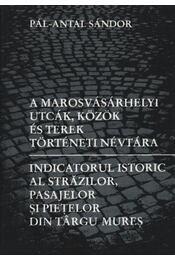 atirni - A marosvásárhelyi utcák, közök és terek történeti névtára - Régikönyvek