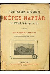 Protestáns árvaházi képes naptár az 1897-dik közönséges évre - Régikönyvek