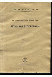 Általános pszichológia - Régikönyvek