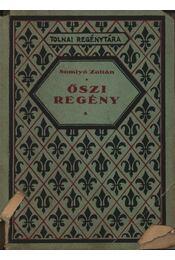 Őszi regény - Régikönyvek