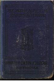 Latin-magyar zsebszótár - Régikönyvek