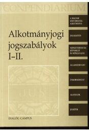 Alkotmányjogi jogszabályok I-II. - Régikönyvek