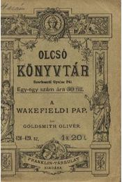 A wakefieldi pap - Régikönyvek