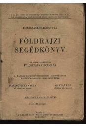 Földrajzi segédkönyv - Régikönyvek