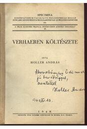 Verhaeren költészete (dedikált) - Régikönyvek
