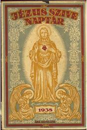Jézus szíve naptár 1938 - Régikönyvek
