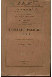 Temesvári Pelbárt példái - Régikönyvek