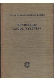 Rendszeres angol nyelvtan - Régikönyvek